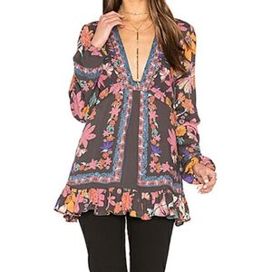 FREE PEOPLE Violet Hill Tunic/Dress